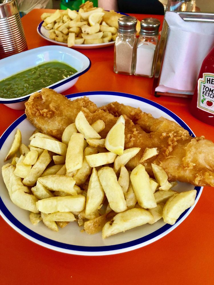 fish and chips Cambridge