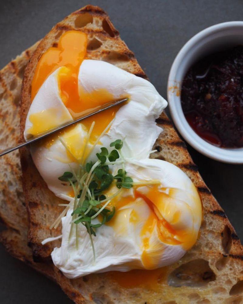 breakfast in Cambridge