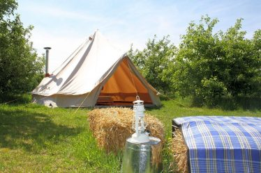 glamping in Cambridge