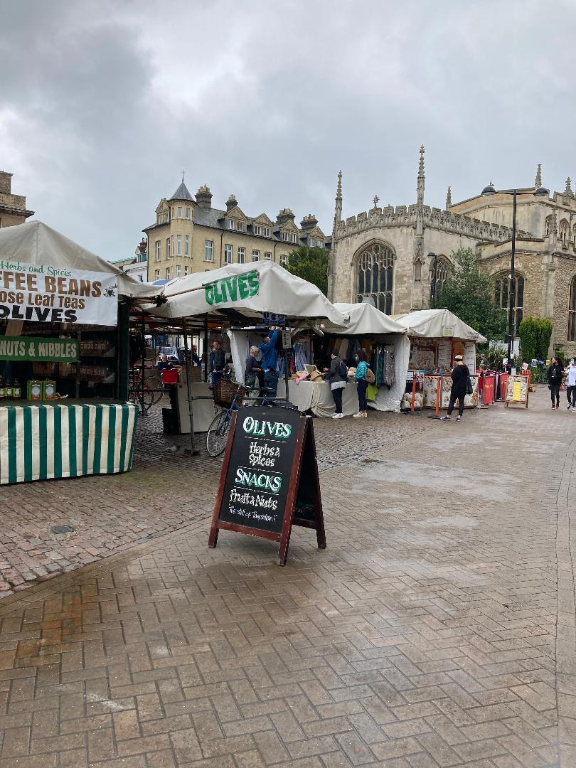 Christmas markets in Cambridge